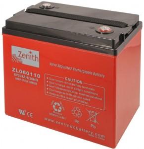 Zenith AGM deep cycle 224 Ah